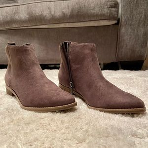 Brown Ankle Boots - Size 8